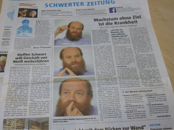 PM-Augsburg-SchwerterZeitung19-3-16-Das-Wesen-vom-Krebs-c